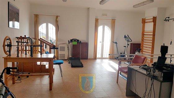 Residencia San Enrique de Guadiaro gimnasio