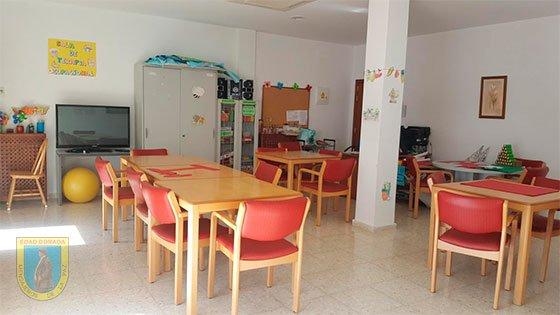 Residencia San Enrique de Guadiaro sala de terapia